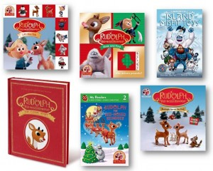 Rudolph Books Giveaway