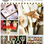 DIY Metallic Holiday Decor Ideas