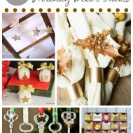 12 DIY Metallic Holiday Decor Ideas