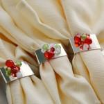 holiday napkin rings tutorial