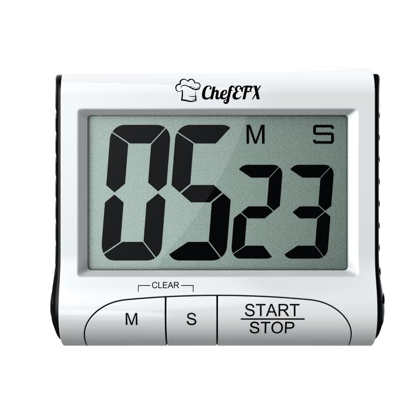 Home chef timer