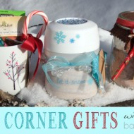 3 Cozy Corner Homemade Christmas Gifts with JoAnn Fabric and Craft Stores #MakeItGiveIt