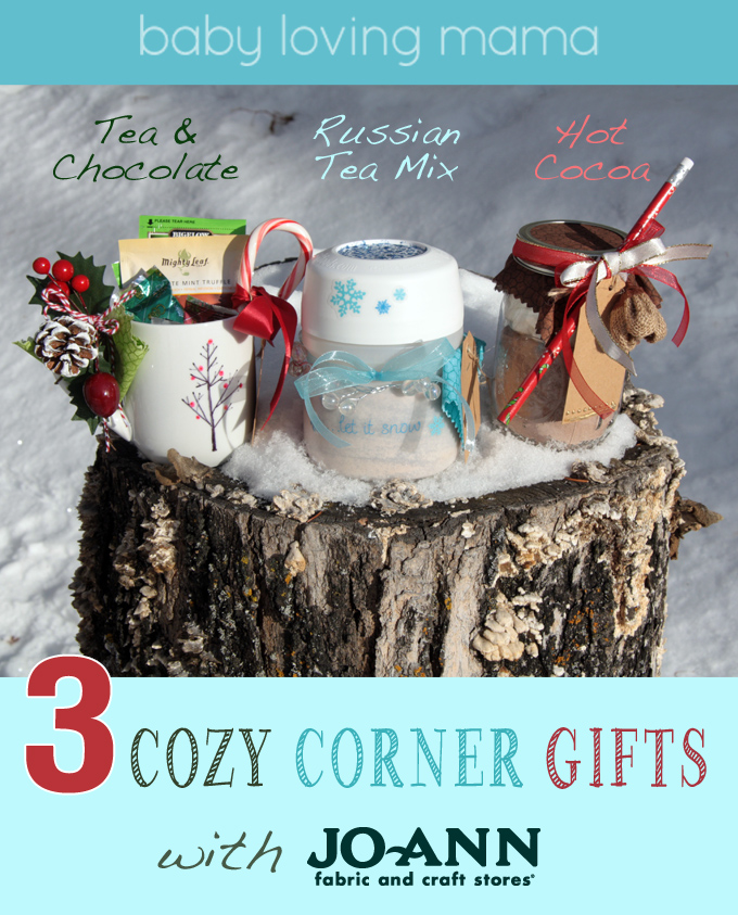 3 diy cozy corner homemade christmas gifts with joann fabrics for Joann fabric craft stores