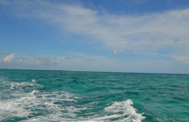 Princess Cruises Caribbean Princess Grand Cayman Excursion Stingray Boat View