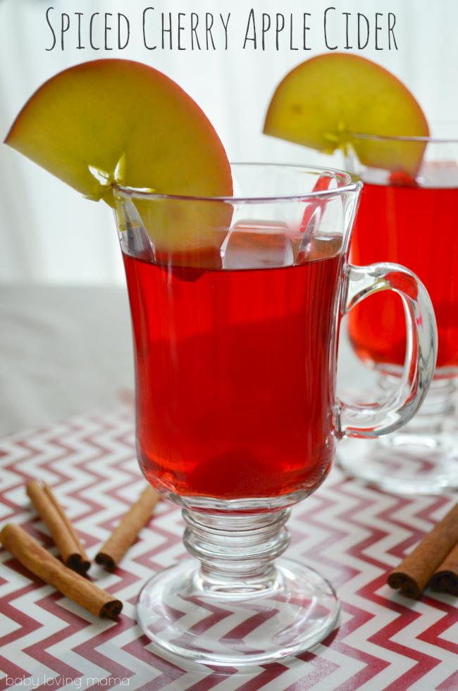 Spiced Cherry Apple Cider