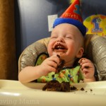 First Birthday Party Wesley Cake Laugh