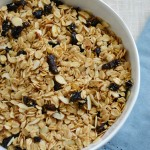 Homemade Orange Plum Granola