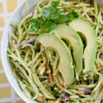 Avocado Broccoli Slaw