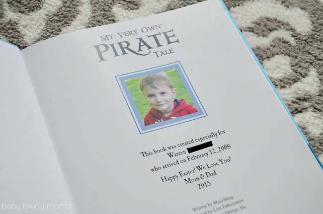 I See Me My Very Own Pirate Tale Personalized Book