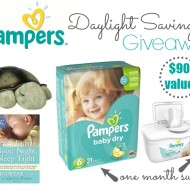 Helping Children Transition with Daylight Savings Time + Pampers GIVEAWAY