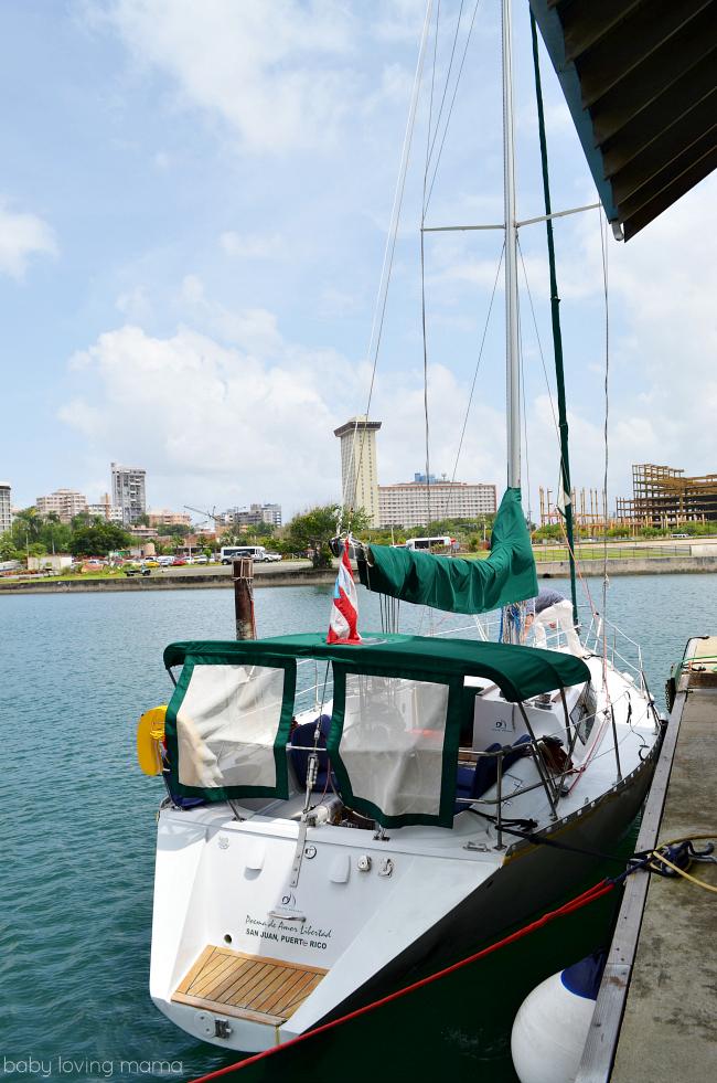 Puerto Rico San Juan Dreamed Daytime Sailboat