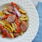 Smoked Sausage with Penne Pasta