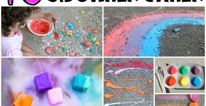 10 Ways to Play with Sidewalk Chalk