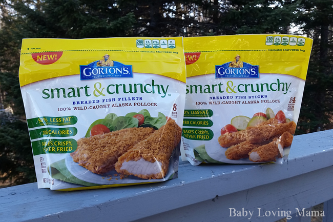Healthier choices for my family with gorton 39 s smart for Gorton s fish coupons