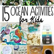 Ocean Activities for Kids : Under the Sea Fun