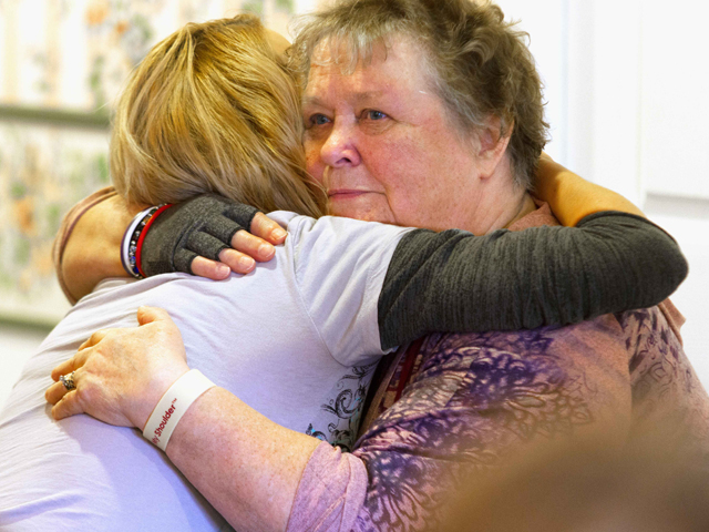 Sharing sessions provide comfort to caregivers at Angel Care retreats