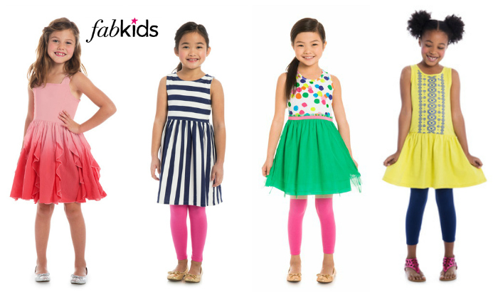 FabKids Girls Dresses Spring 2015
