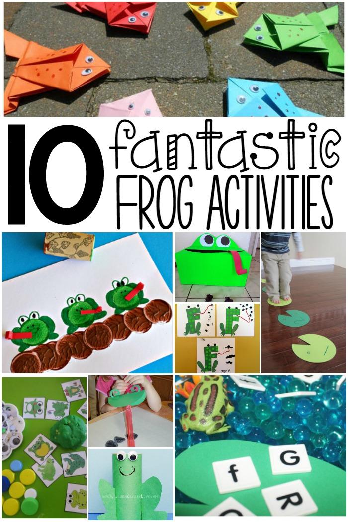 Frog Activities for Kids