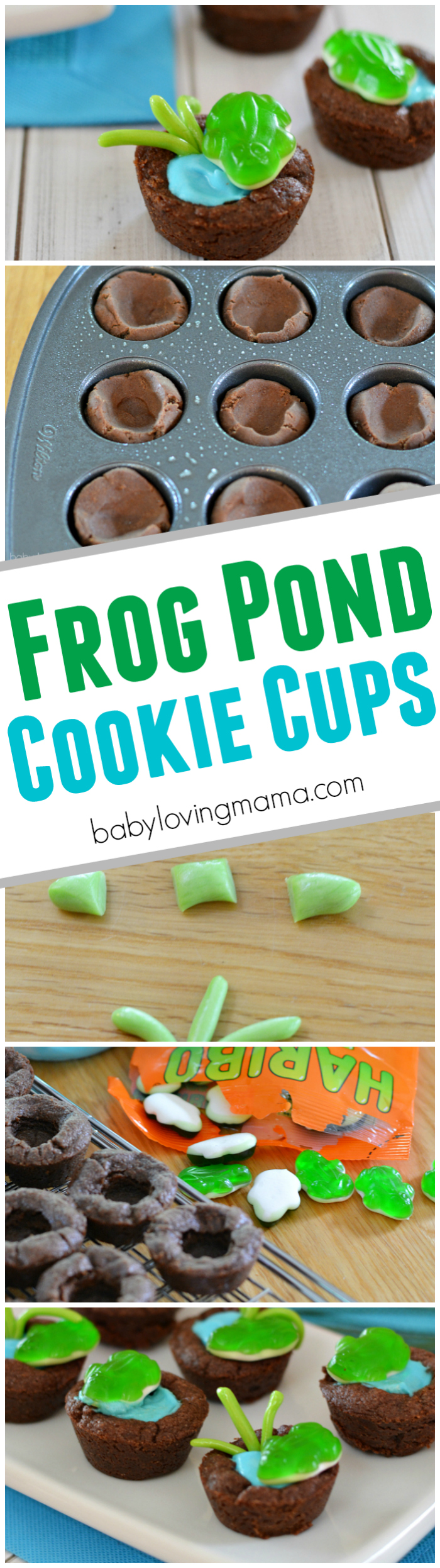 Frog Pond Chocolate Cookie Cups