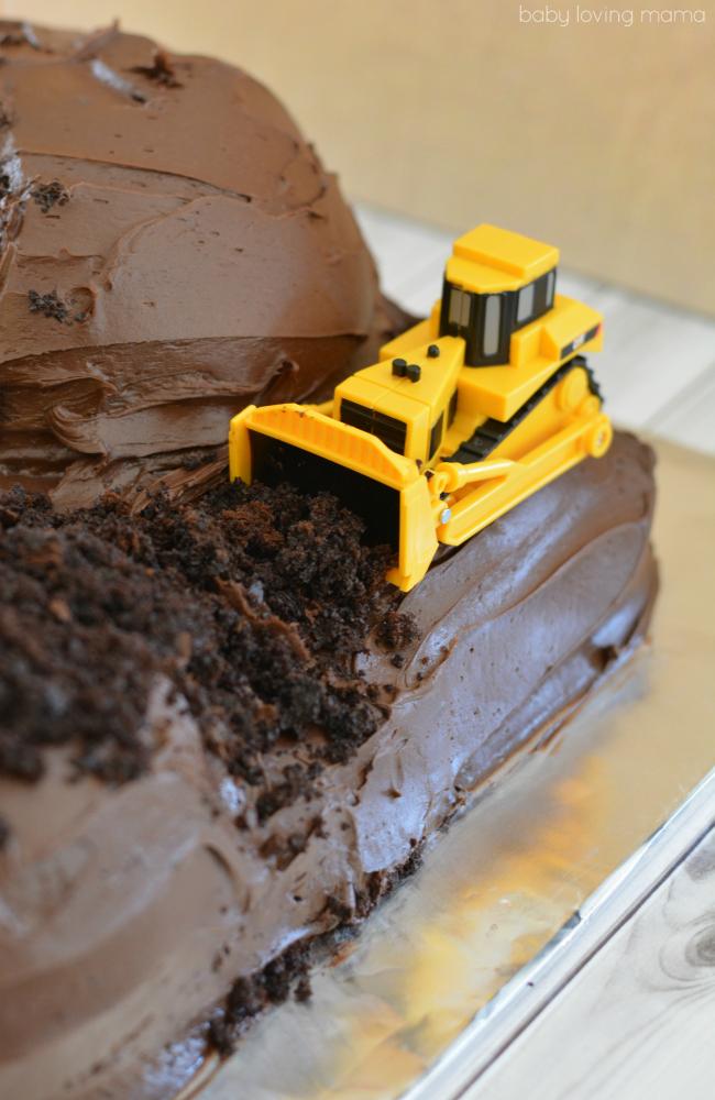 Kids Construction Birthday Cake