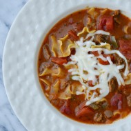 Quick Lasagna Soup Recipe