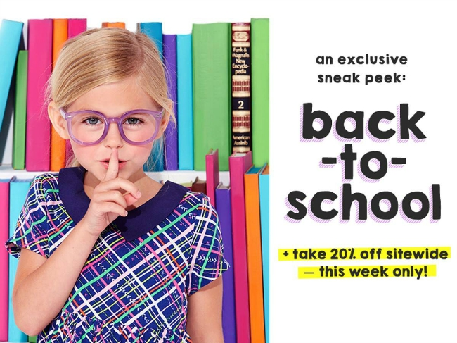 FabKids Back to School Offer