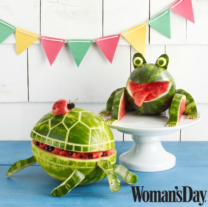 Frog Watermelon Bowl