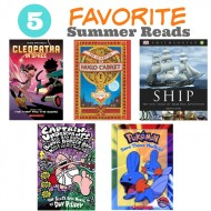 5 Favorite Summer Books with Scholastic + Energizer Instant Win Game