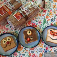 Morning Monsters | Nature's Harvest® Sandwich Art Photo Contest + Giveaway