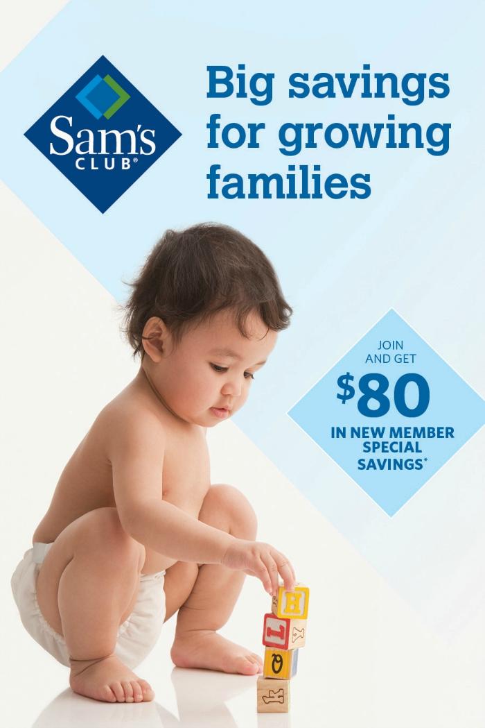Sams Club Big Savings for Growing Families