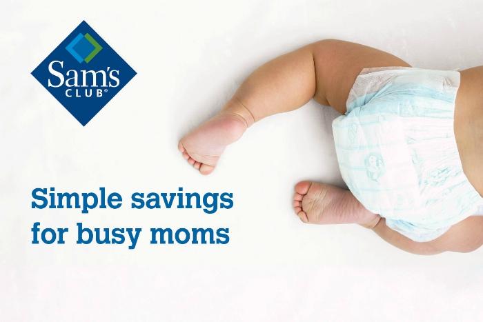 Sams Club Savings for Busy Moms