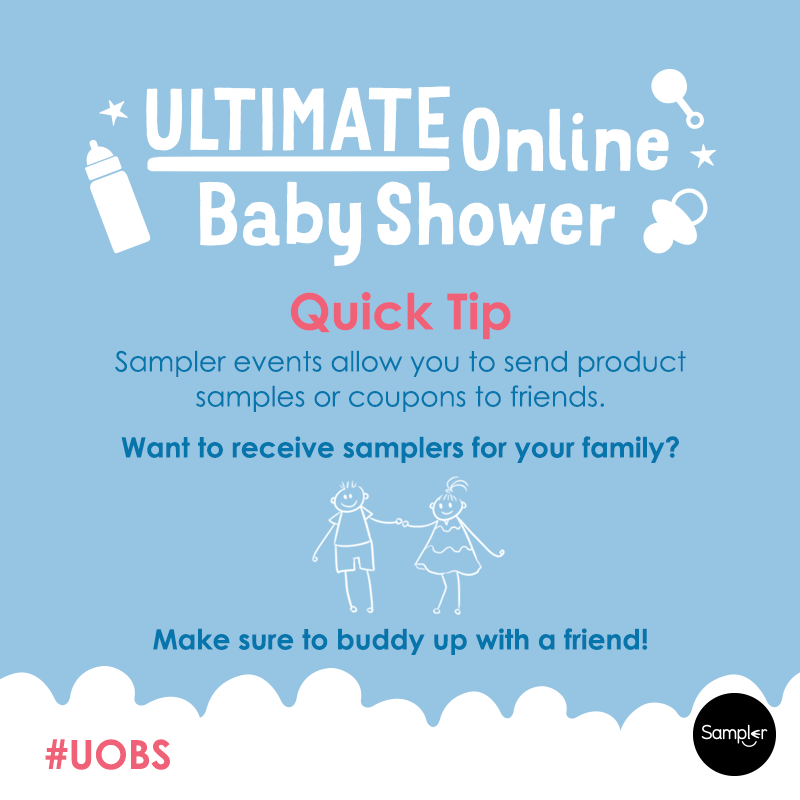 Ultimate Online Baby Shower with Sampler Free Samples and Flash – Baby Shower Samples