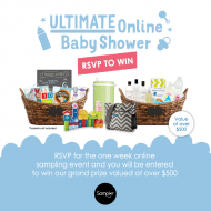 Ultimate Online Baby Shower with Sampler: Free Samples and Flash Giveaways
