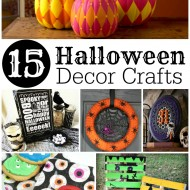 15 Halloween Decor Crafts