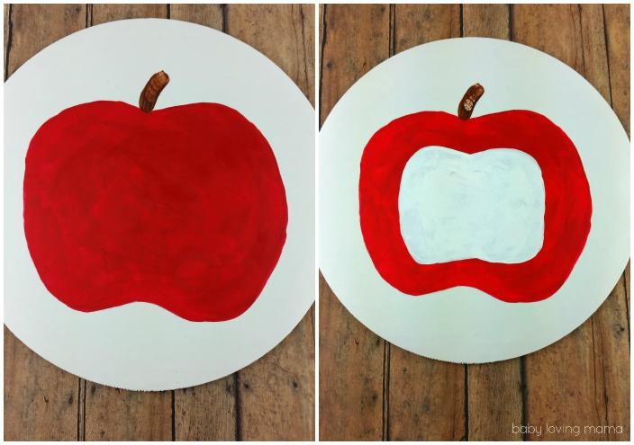 Easy Apple Craft Steps