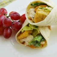Easy Caesar Chicken Wraps for Lunch