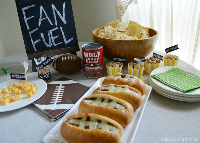 Football Chili Bowls Tailgating Fan Fuel