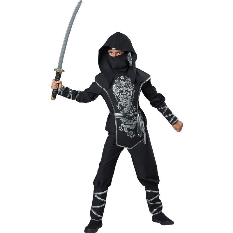 Costume Express Exclusive Silver Ninja Deluxe Costume