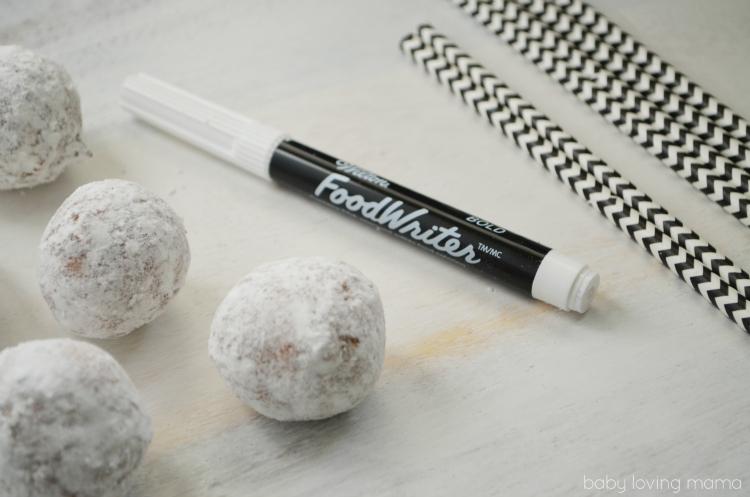 Jack Skellington Donut Pops Supplies