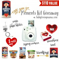 Quaker Celebrates National Oatmeal Day with Free Oatmeal + Off You Go Moments Kit Giveaway