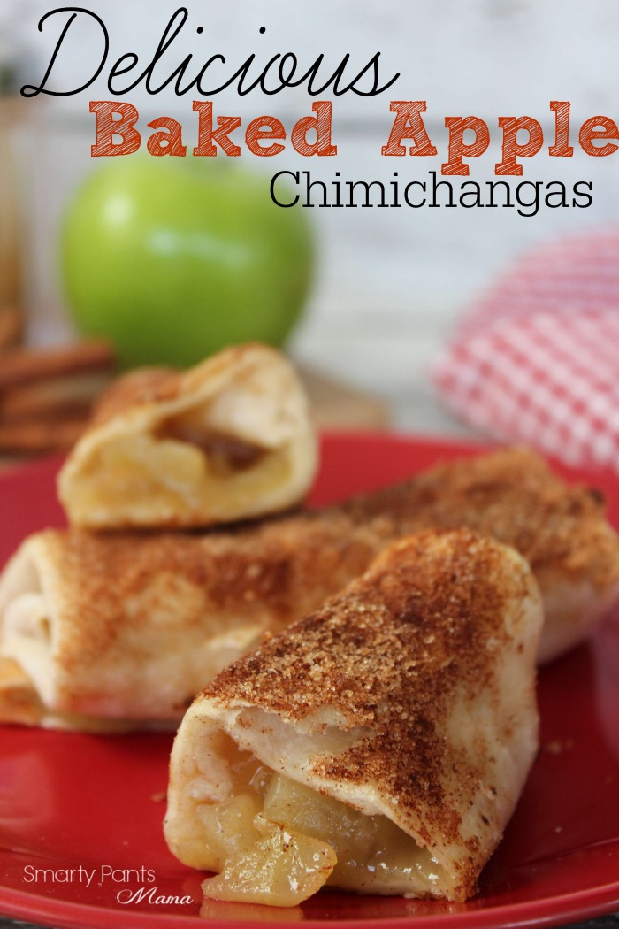 Baked Apple Chimichanga