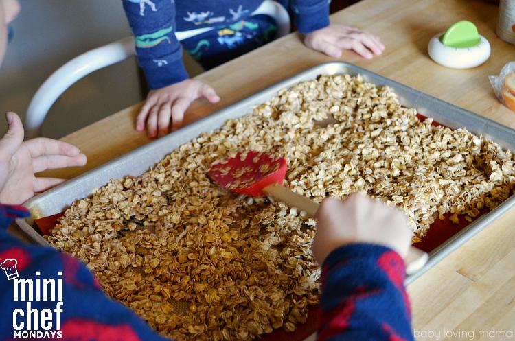 Making Homemade Granola with Kids