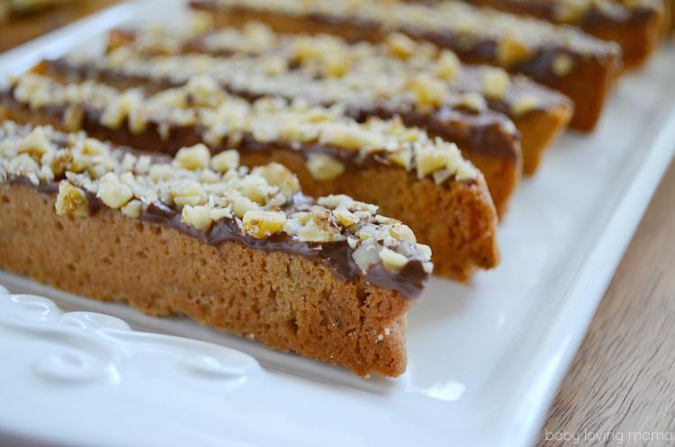 Orange Walnut Biscotti Recipe