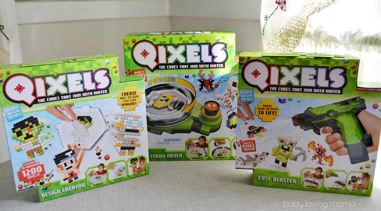 Qixels Design Creator Fuse Blaster Turbo Dryer