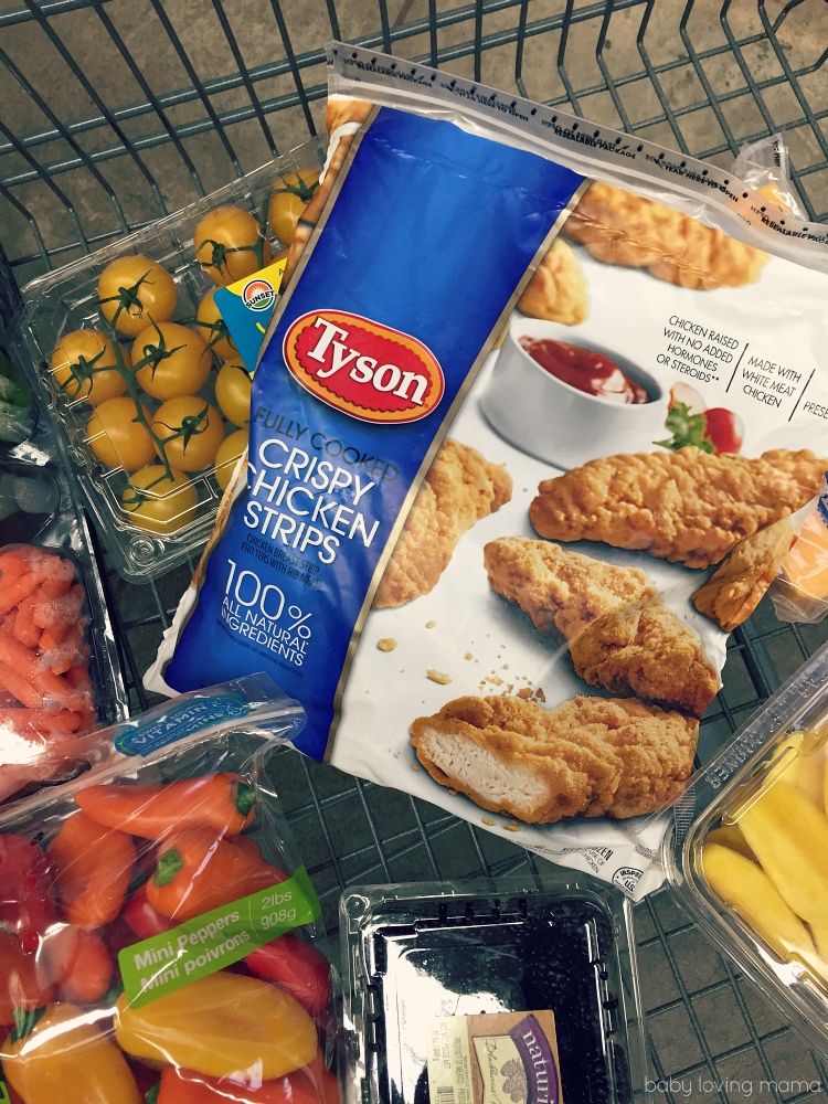 Tyson Fully Cooked Crispy Chicken Strips at Sams Club
