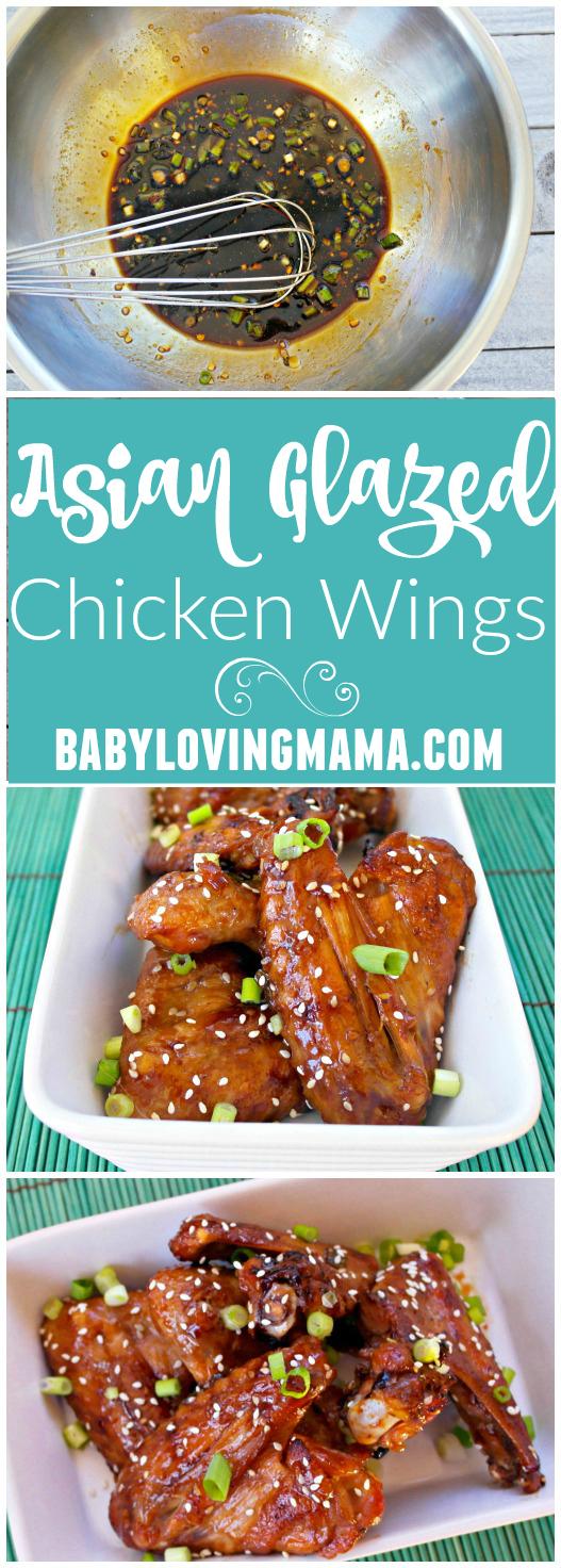 Asian Glazed Chicken Wings Recipe