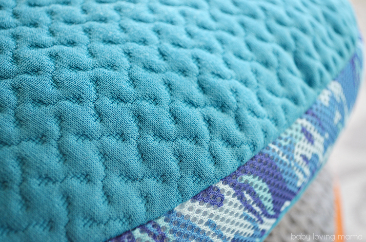Bedgear BGX Crush Performance Pillow Closeup