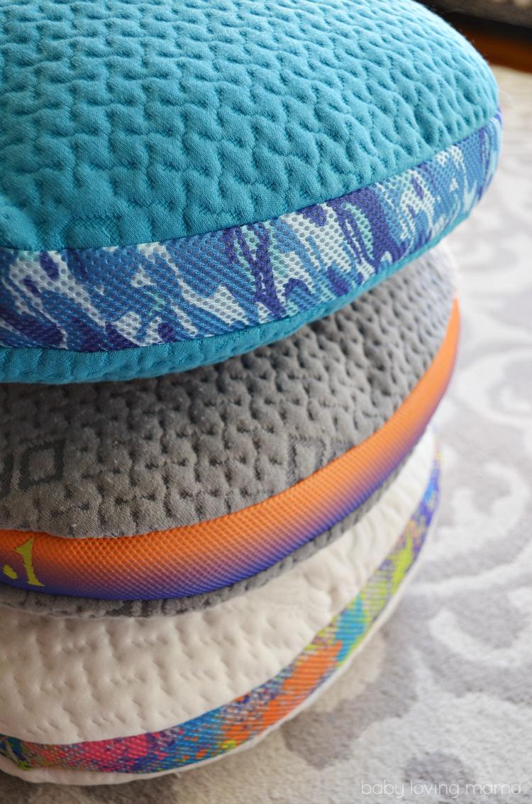 Bedgear BGX Crush Performance Pillow Colors