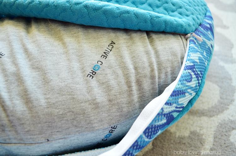 Bedgear BGX Crush Performance Pillow Inside