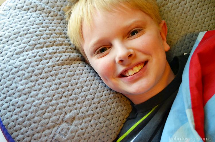Bedgear BGX Crush Performance Pillow for Kids